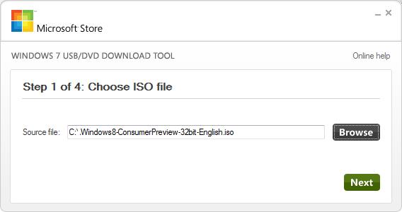 Installing Windows 8 Consumer Preview using VirtualBox